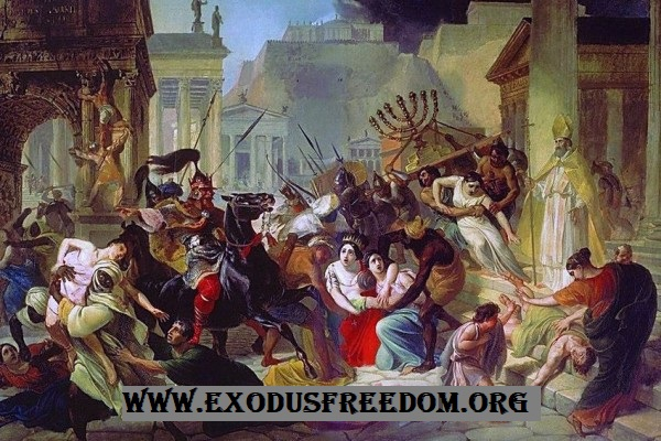 Penyebab Runtuhnya Kekaisaran Romawi Barat