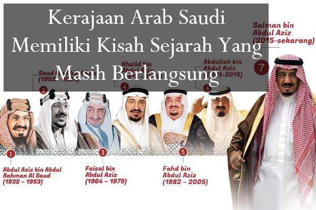 Kerajaan Arab Saudi Memiliki Kisah Sejarah Yang Masih Berlangsung
